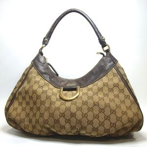 Auth Gucci Gg Abbey Hobo Bag #1644G50